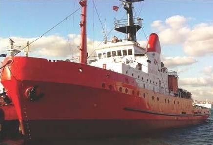 Tugboat DWT:  928