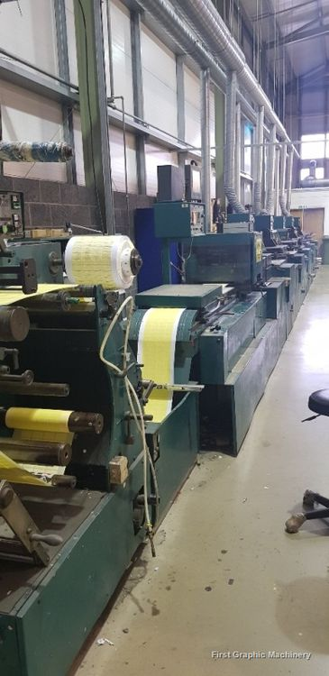 Nilpeter S330S, Five Colour Self Adhesive Label Press