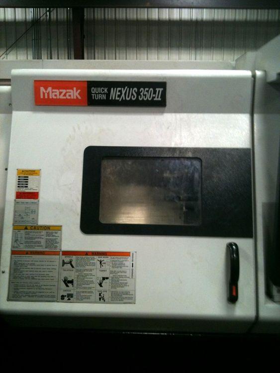 Mazak MAZATROL MATRIX CONTROL Max. 3300 rpm NEXUS QTN 350 2 Axis