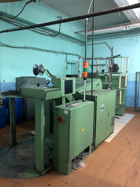 4 Textima 1605 Combing machines