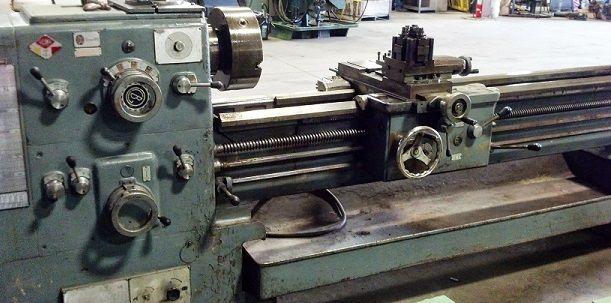 Breda Engine Lathe 1524 RPM Engine Lathe Model: BRL 225