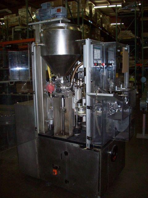IWKA TFS-10 Hot Air Tube Filler/Sealer