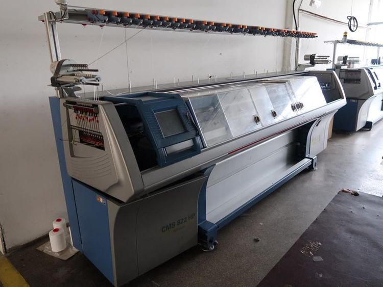 Troostwijk Auction of flat knitting machines Stoll, sewing machines and equipment due to bankruptcy