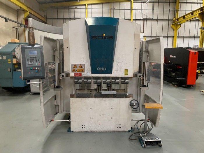 Adira QHD 2512 PLS-1258 HYDRAULIC CNC PRESS BRAKE 25 Ton