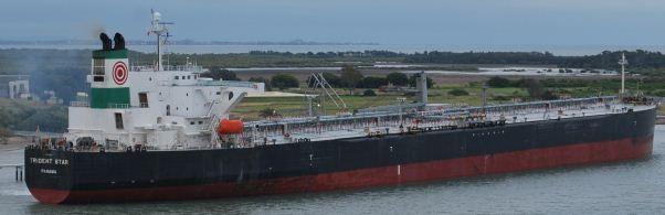 Namura Oil Tanker Abt 105,996 DWT on 14.92 M Draft