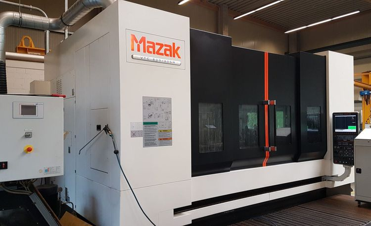 Mazak VTC 800/30 SR 5 Axis