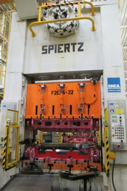 Spiertz F2E 25x2,2 250 Ton