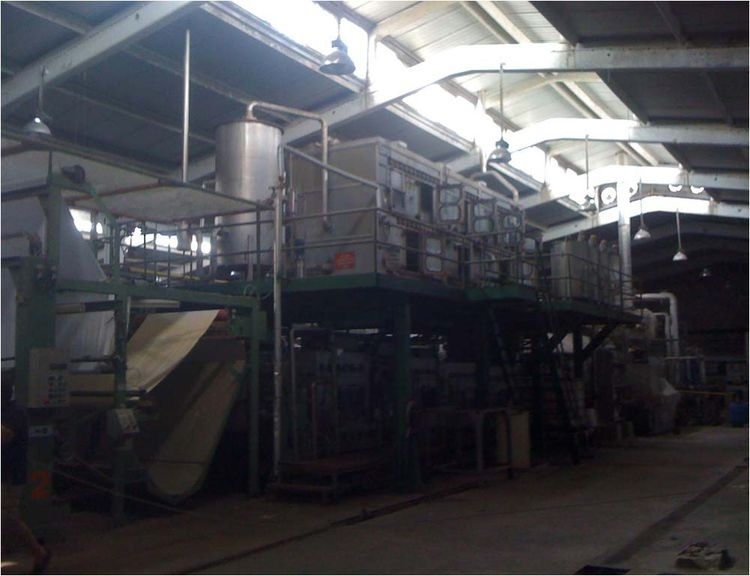Babcock Washing and bleaching line