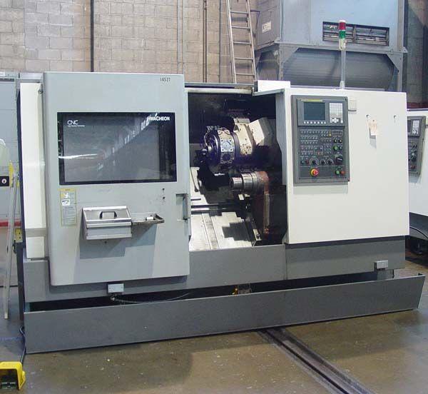 Hwacheon Fanuc 0i-TC CNC Control 5000 RPM Cutex-240ASMC 2 Axis