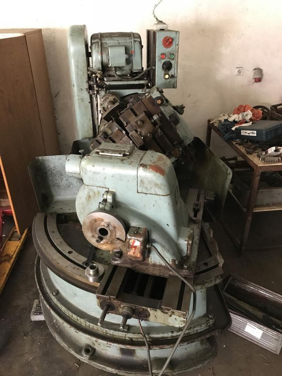 TOS ZSTWK Variable Bevel gear generator straight