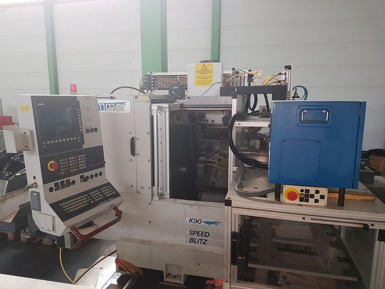 Kummer Sinumerik 840D CNC control 10000 rpm Speed Blitz K90 A 2 Axis