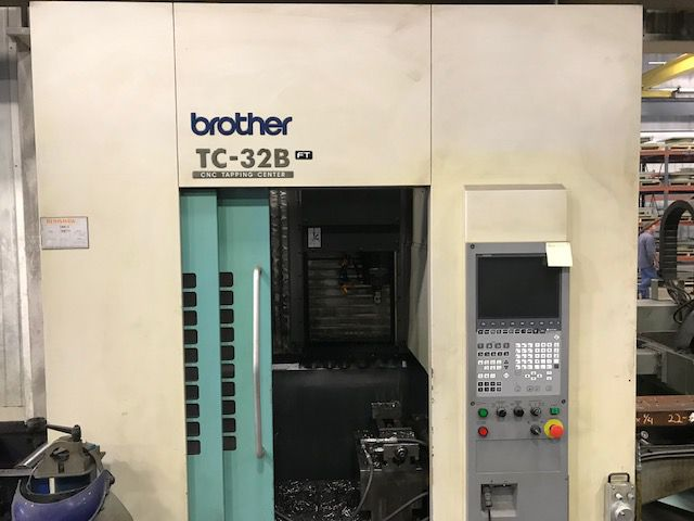 Brother TC32B FT (Fixed Table) CNC B00 Control 3 Axis