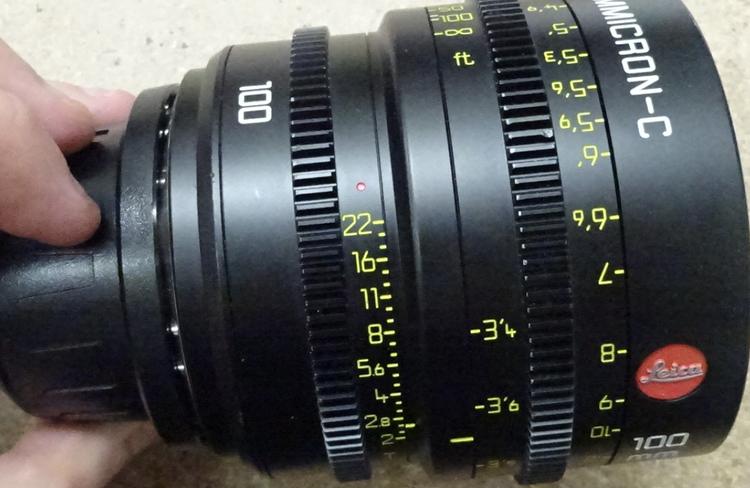 Leica Summicron-C 100mm Lens