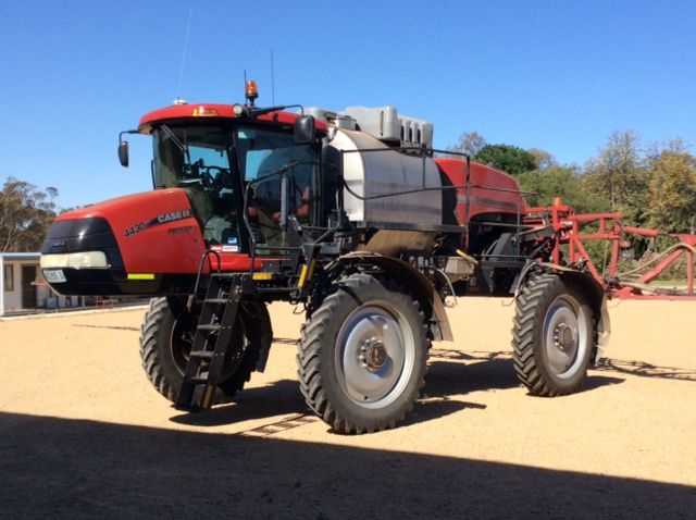 Case Self-Propelled Sprayers