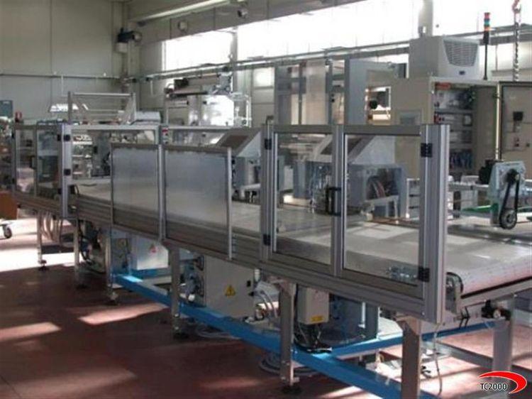 Mobert gamma 7 M.S.H 110 Bag making machine Soft loop handles