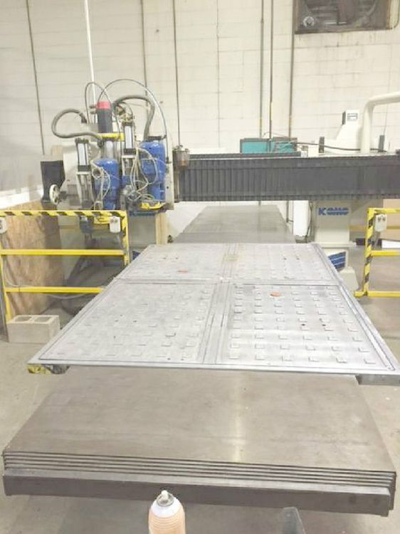 Komo VR-508 CNC ROUTER FANUC OMC CNC CONTROL