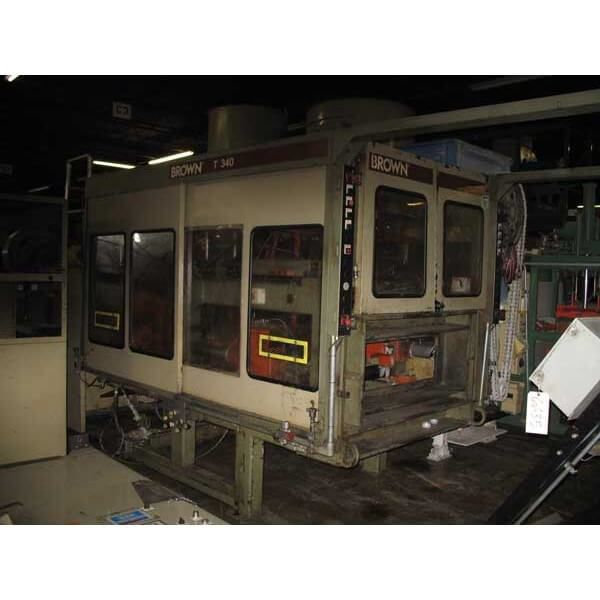Brown CS-4500, THERMOFORMING LINE