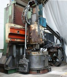 Berthiez NUM 760 Max. 4000 tr/mn (RPM) TFM 100 2 Axis CNC Vertical Turning Center