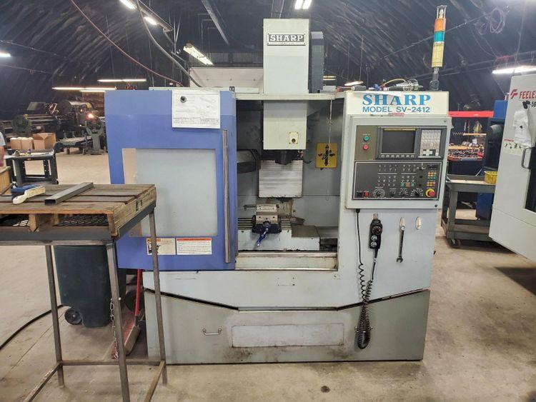 Sharp SV2412 CNC Vertical Machining Center 3 Axis