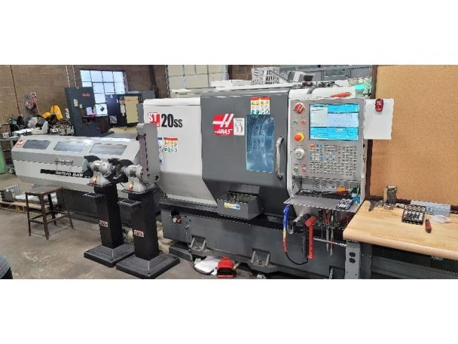 Haas CNC Control 5,000 RPM ST-20SS 2 AXIS