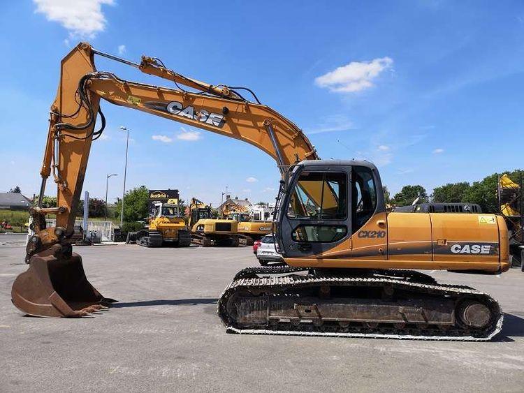 Case CX 210 Crawlers Excavators