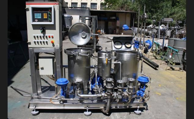 Moline TMH / 2-5 HT Vertical Cone Dyeing
