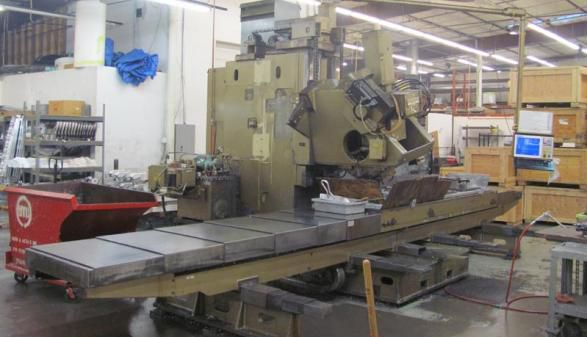 Cincinnati 20V-120 (5-Axis Mill) 5 Axis