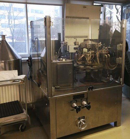 Unipac Silver 80  tube filling machine