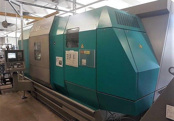 Index Siemens 840D (C200 4D) 3000 rpm G400 2 Axis