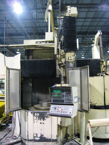 Giddings & Lewis 512 CNC VERTICAL BORING MILL