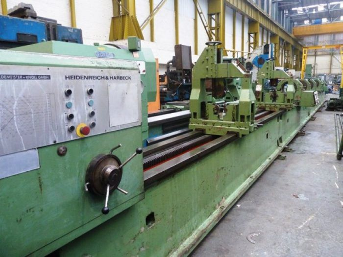 Gildemeister Deep Hole Boring Machine Max. 1120 rpm B4N x 7500mm