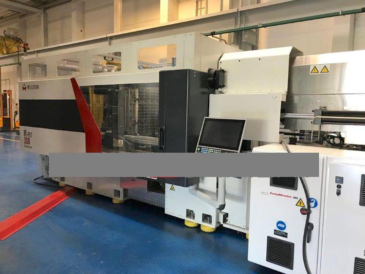 Milacron M-PET 300 PET PREFORM CO-INJECTION MOULDING MACHINE