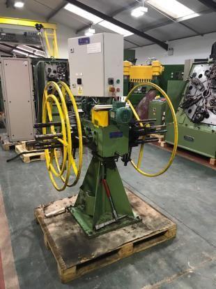 Atkin PCD500-225 double-ended motorized decoiler 500 kgs