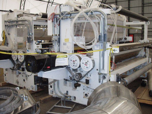 """PCMC 105"""" (2.67M) Laminator  ( 2- web ) combiner - used after unwind stands"""