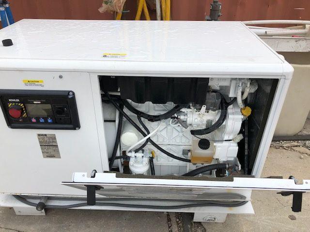 Kohler 24EKOZD low hour Generator set 24