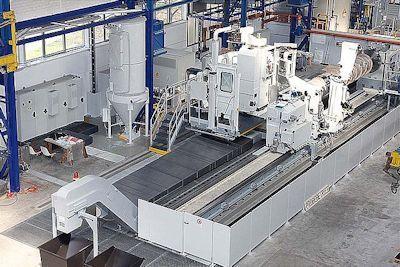 Safop CNC Siemens 840 D 1400 rpm Leonard 60/3000 CNC 4 Axis