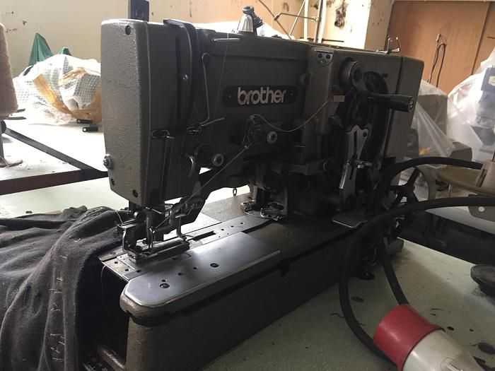 Brother LH4-B814-4 Buttonhole sewing