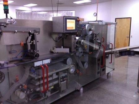 2 Bosch Servac NT 25  Blister Machine