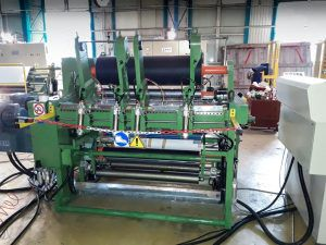 Del Maglio Alu Slitter, Slitting machine for laminated and un-laminated aluminium foils 1050mm