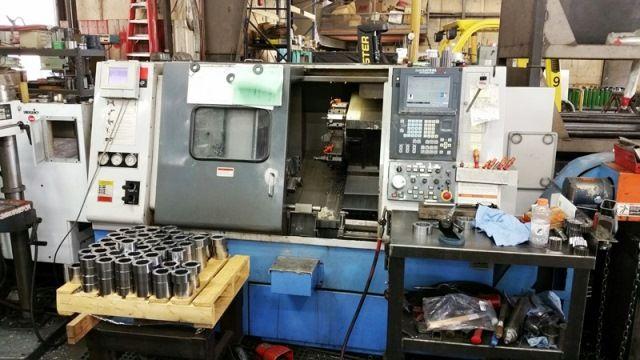 Mazak MAZATROL FUSION 640 CONTROL Max. 4000 rpm QT 250HP 2 Axis