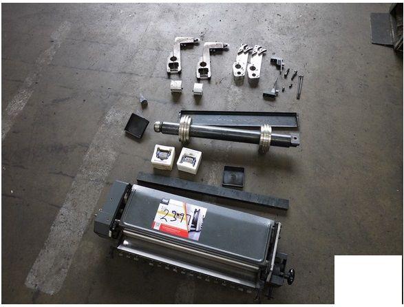 Heidelberg N&P GTO 46, Numbering & Perforating Unit