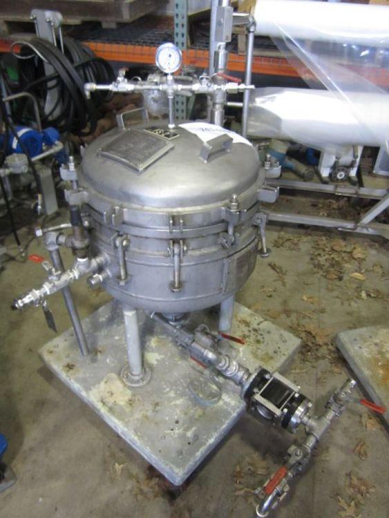 Sparkler 18-D-6 Stainless Steel Filter