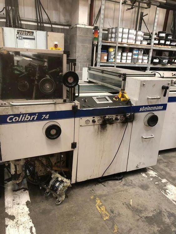 Steinemann Colibri 74 Laminating Machine