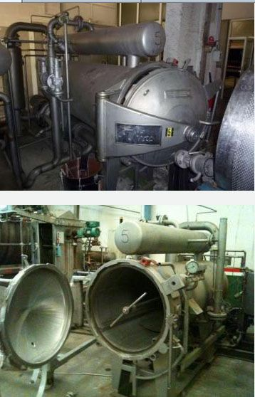 Thies Autoclave for beams
