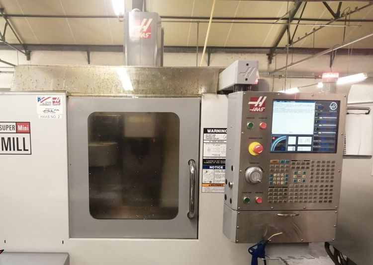Haas Super Mini Mill 3 Axis
