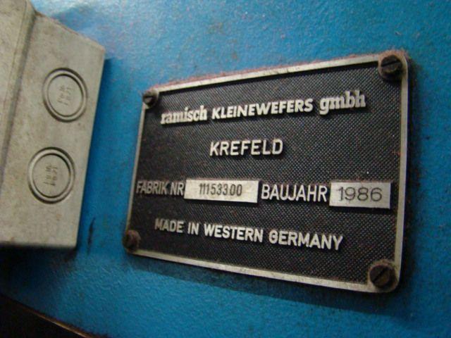 Kleinewefers 1986 250 cm 1 Ramisch Kleinewefers Nipco Flex Calander, ww. 2500 mm