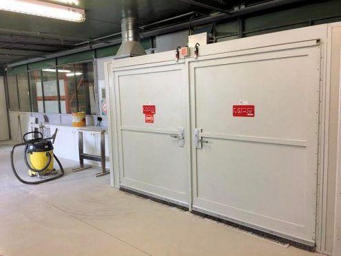 Giardina MOS, Microwave dryer