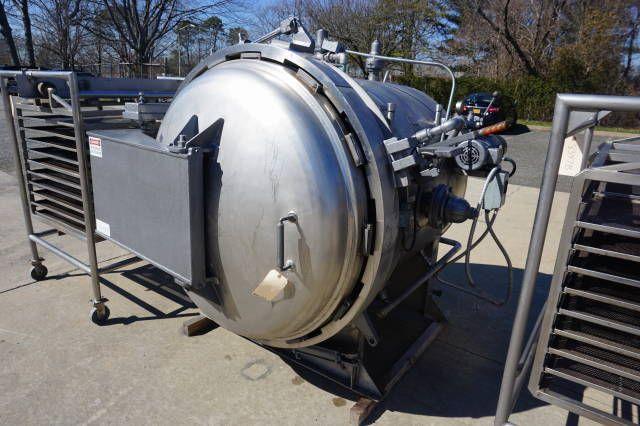 Reiser/Walker 48 In. Diameter Stainless Steel Pressure Cooker/Autoclave