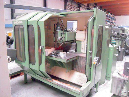 Deckel FP 5 NC Max. 6300 rpm