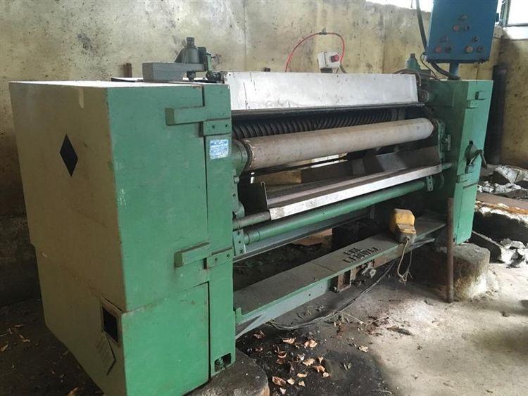 Polvara 1600 mm fleshing machine